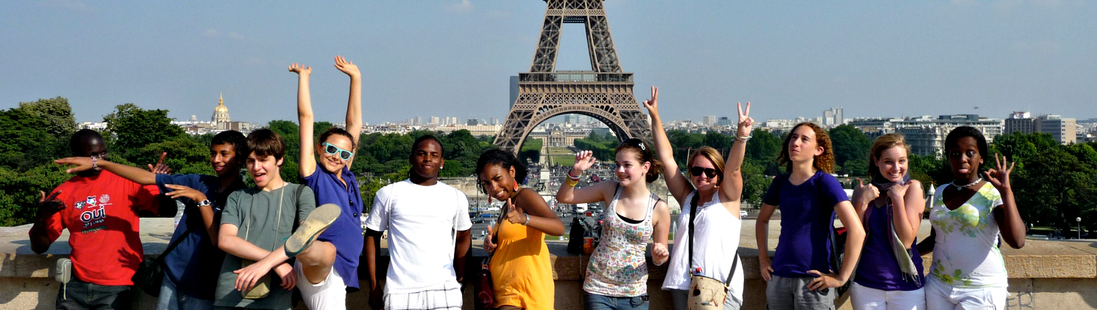 International Students in Paris